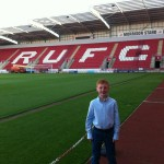 Oliver at Rotherham's New York Stadium